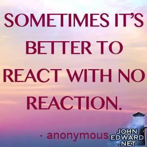 On Reacting